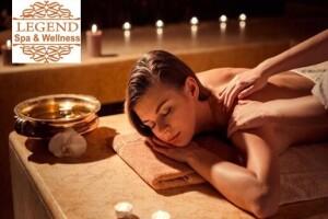 İlkbal Deluxe Hotel Legend Spa'da Islak Alan Kullanımı Dahil Masaj ve Kese Köpük Uygulamaları
