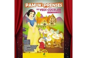 Eğlence Dolu 'Pamuk Prenses ve Yedi Cüceler' Çocuk Tiyatro Oyunu Bileti