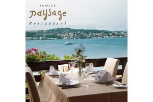Kanlıca Paysage Restaurant'ta Serpme Kahvaltı Menüsü