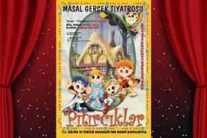 Çocukların Keyifle İzleyeceği 'Pıtırcıklar' Adlı Çocuk Tiyatro Oyununa Bilet