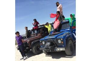 Kapadokya'da 4 Kişilik 2 Saat Sürecek Jeep Safari Turu
