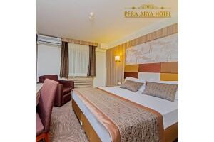 Pera Arya Hotel'de Çift Kişilik Kahvaltı Dahil Konaklama Seçenekleri