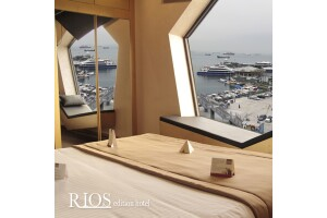Bakırköy Rios Edition Hotel'de Şehir ve Deniz Manzaralı Çift Kişilik Kahvaltı Dahil Konaklama Seçenekleri