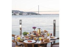 İnci Bosphorus'tan Tadı Damağınızda Kalacak Sınırsız Çay Eşliğinde Kişi Başı Serpme Kahvaltı Menüsü
