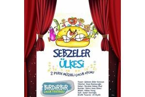'Sebzeler Ülkesi' Çocuk Tiyatro Oyunu Bileti
