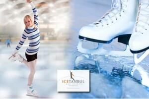 Beylikdüzü Icetanbul'un 1200 Metrekarelik Buz Pistine Serbest Giriş