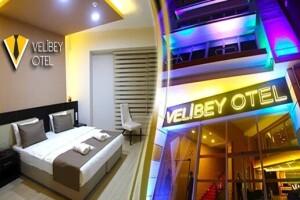 Eskişehir Velibey Otel'de Kahvaltı Dahil Çift Kişilik 1 Gece Konaklama Keyfi
