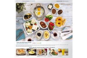 Alaçatı Muhallebicisi Pendik Marina'da Hafta İçi Enfes Serpme Kahvaltı Keyfi
