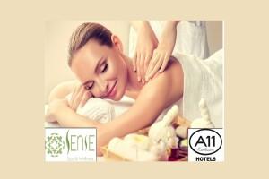 Sense Spa, A11 Hotels Exclusive Bağdat Caddesi'nden Islak Alan Kullanımı Dahil Masaj Seçenekleri