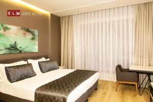 Elm Suite Hotel Kağıthane'de Çift Kişilik Konaklama Keyfi