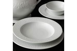 Kütahya Porselen Açelya 53 Parça Yemek Takimi