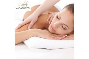 Matiat Hotel Aquaros Spa'da Masaj ve Kese-Köpük Uygulaması