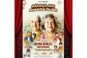 Nevra Serezli & Nuri Gökaşan'ın Başrol Aldığı 'Ağaçlar Ayakta Ölür' Tiyatro Bileti