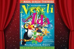 'Neşeli Ada' Çocuk Tiyatro Oyunu Bileti