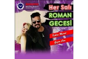 Moda Spor Kulübü Her Salı Kobra Murat ve Gizem Can İle Roman Gecesi & Akşam Yemeği