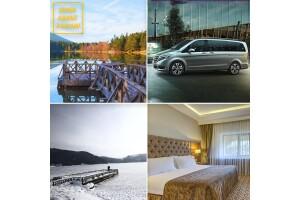 1 Gece Abant Palace Hotel veya Büyük Abant Otel Yarım Pansiyon Konaklamalı, Evinizden Vip Araç ile Gidiş Dönüş Ulaşım Dahil 2 Günlük Abant Tatili Paketi