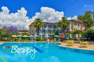 Fethiye Bezay Hotel'de Bayram Dönemleri de Geçerli Yarım Pansiyon veya Herşey Dahil Tatil Seçenekleri