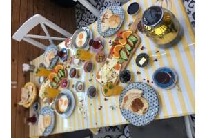 Symbol Cafe'de Nefis Kahvaltı Menüsü