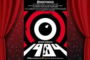 Usta Oyuncuların Rol Aldığı, George Orwell'in Kült Eseri '1984 Büyük Gözaltı' Tiyatro Bileti