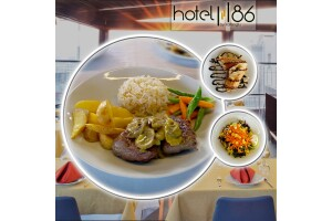 Konak Hotel 86 by Katipoğlu The View Restaurant'ta İzmir Manzarasına Karşı Enfes Lezzetlerden Oluşan Akşam Yemeği Menüsü
