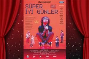 Emir Özden, Ayça Erturan, Korel Cezayirli ve Didem İnselel'in Sahnelediği 3 Boyutlu Animasyonların Desteklediği 'Süper İyi Günler' Tiyatro Bileti