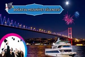 Bosphorus Organizasyon'dan Teknede Mezuniyet Eğlencesi Programı
