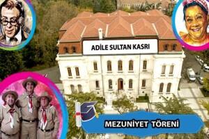 Bosphorus Organization'dan Hababam Sınıfı Okulu Adile Sultan Kasrı'nda Mezuniyet Organizasyonu