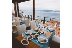 Taksim MaAile Restoran'da Muhteşem Boğaz Manzarası Eşliğinde Akşam Yemeği Menüleri