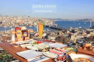 Süleymaniye Qayragusto Cafe'de Enfes Serpme Kahvaltı Menüsü
