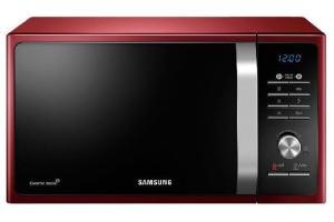Samsung MG23F301TCR/TR Solo Mikrodalga Fırın, Kırmızı