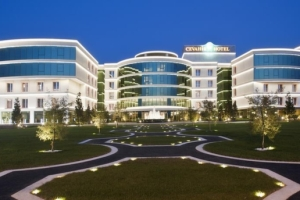 Cevahir Hotel İstanbul Asia'da Kara veya Deniz Manzaralı Odalarda Çift Kişilik Konaklama Seçenekleri