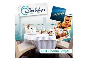 Ataköy Marina Nossa Costa By Balıkçı'da Muhteşem Manzara Eşliğinde Nefis Öğle Yemeği