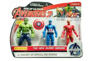 Avengers 2, Age Of Ultron,hulk-Captain America- Ironman Akseuarlı