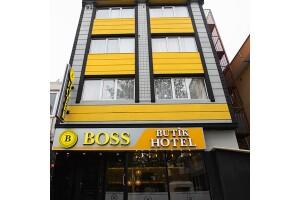 Boss Butik Hotel'de Çift Kişilik Kahvaltı Dahil Konaklama