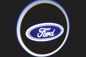 Ford Araçlar İçin Pilli Yapıştırmalı Kapı Altı Led Logo