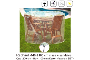 Sole Bahçe Mobilyası Koruma Örtüsü - 4 Seçenek