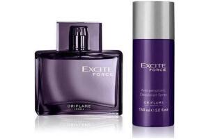 Excite Force Edt 75 Ml Erkek Parfümü + Sprey Deodorant 2 Li Set