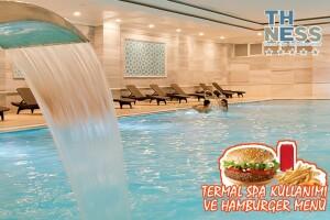 The Ness Thermal Hotel'de Termal Kullanımı ve Hamburger Menü