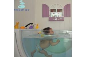 Türkiye'nin İlk VIP (Kişiye Özel) Bebek Spa Merkezi BabyGo Spa, Hidroterapi ve Bebek Masajı Uygulaması