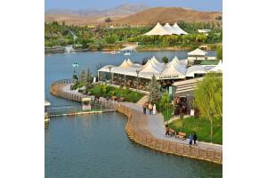 Göksu Salıncak Cafe'de Gölet Kenarında Muhteşem Serpme Kahvaltı Keyfi