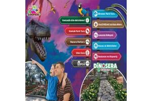 Göynük Dinosera - Dinogül Bahçesi'nde Doyasıya Eğlenceye Giriş Bileti ve Serpme Kahvaltı