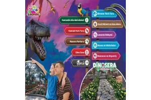 Göynük Dinosera - Dinogül Bahçesi'nde Doyasıya Eğlenceye Giriş Biletleri