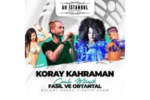 Ah istanbul Meyhanesi Teras'ta Canlı Fasıl ve Yerli İçecek Eşliğinde Enfes Menü Seçenekleri