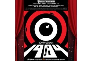 Usta Oyuncu Rutkay Aziz'in de Rol Aldığı, George Orwell'in Kült Eseri '1984 Büyük Gözaltı' Tiyatro Bileti