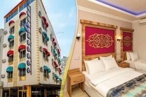 Antalya Linda Expo Hotel'de Çift Kişilik Konaklama Keyfi
