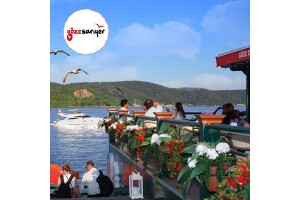 Göze Sarıyer Teras'ta Denize Nazır, Çift Kişilik Enfes Akşam Yemeği