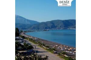 Fethiye Deniz Otel'de Çift Kişilik 1 Gece Yarım Pansiyon Konaklama Seçenekleri