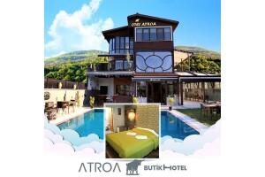 İznik Otel Atroa'da Oda Seçenekli Çift Kişilik Konaklama Keyfi