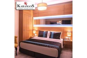 Karamans Sirkeci Suites Hotel'de Tek veya Çift Kişilik Konaklama Seçenekleri