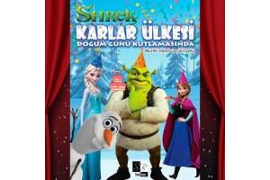'Shrek Karlar Ülkesi Doğum Günü Kutlamasında' Çocuk Oyunu Tiyatro Bileti